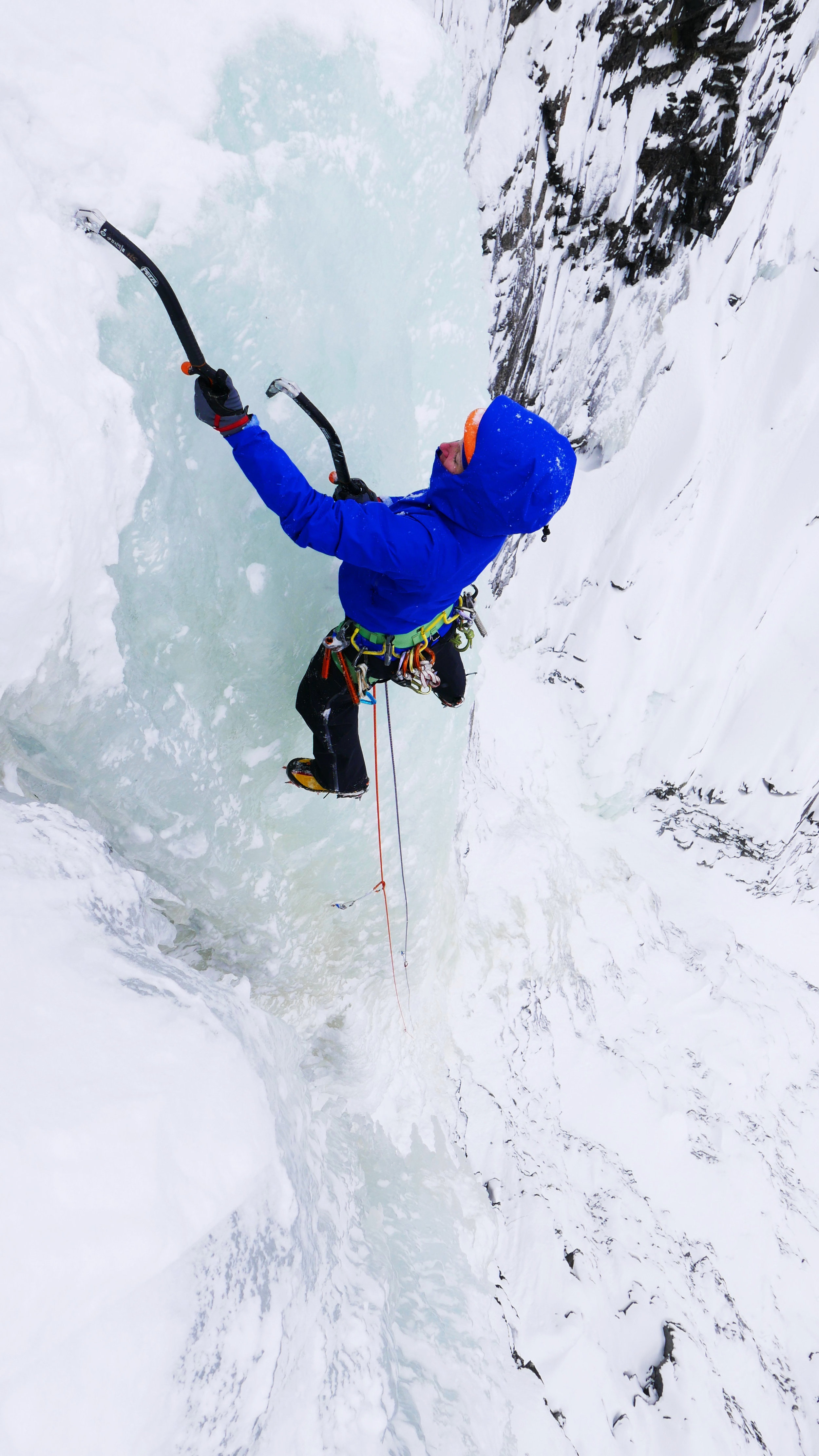 Rjukan, Norway - February - A great location to discover for the first time the beauty of ice climbing in Norway, The land of The IceContact me for your personal ice climbing adventure