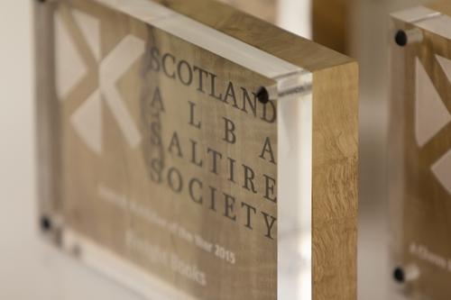Sycamore and Acrylic Award
