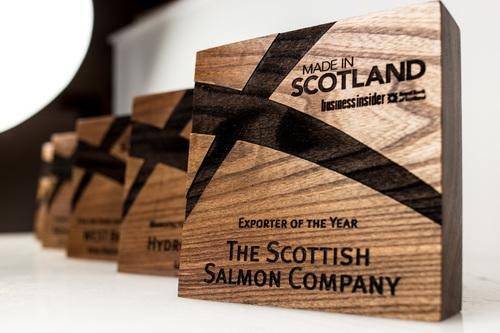 Wooden Award made of Elm