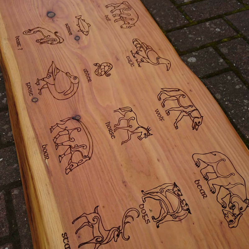 Personalised Wooden Benches