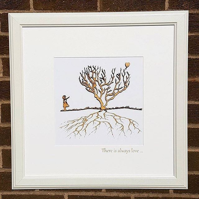 There is always love 💕 . Combining precision laser cutting techniques with unique engraving to create a beautiful piece that exposes various details when viewed from different positions. . Created using sustainable sources wood. . Available to purchase at www.blackrosedesignsuk.com - Facebook - Instagram . . #traditionaldesign #originaldesign #smallbusiness #wooddesign #locallymade #uniquegifts #interiordecoration #laseretched #customdesigns #laserengraved #yew #christmas #christmasgifts #craftsman #madeinscotland  #modernart #madeinscotland #woodcraft #custom #wood #creative #creativethinking #woodporn #acrylic #justacard #marketing #advertising #banksy #balloongirl #thereisalwayshope #thereisalwayslove