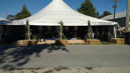 AG Tent Sandusky County Fair