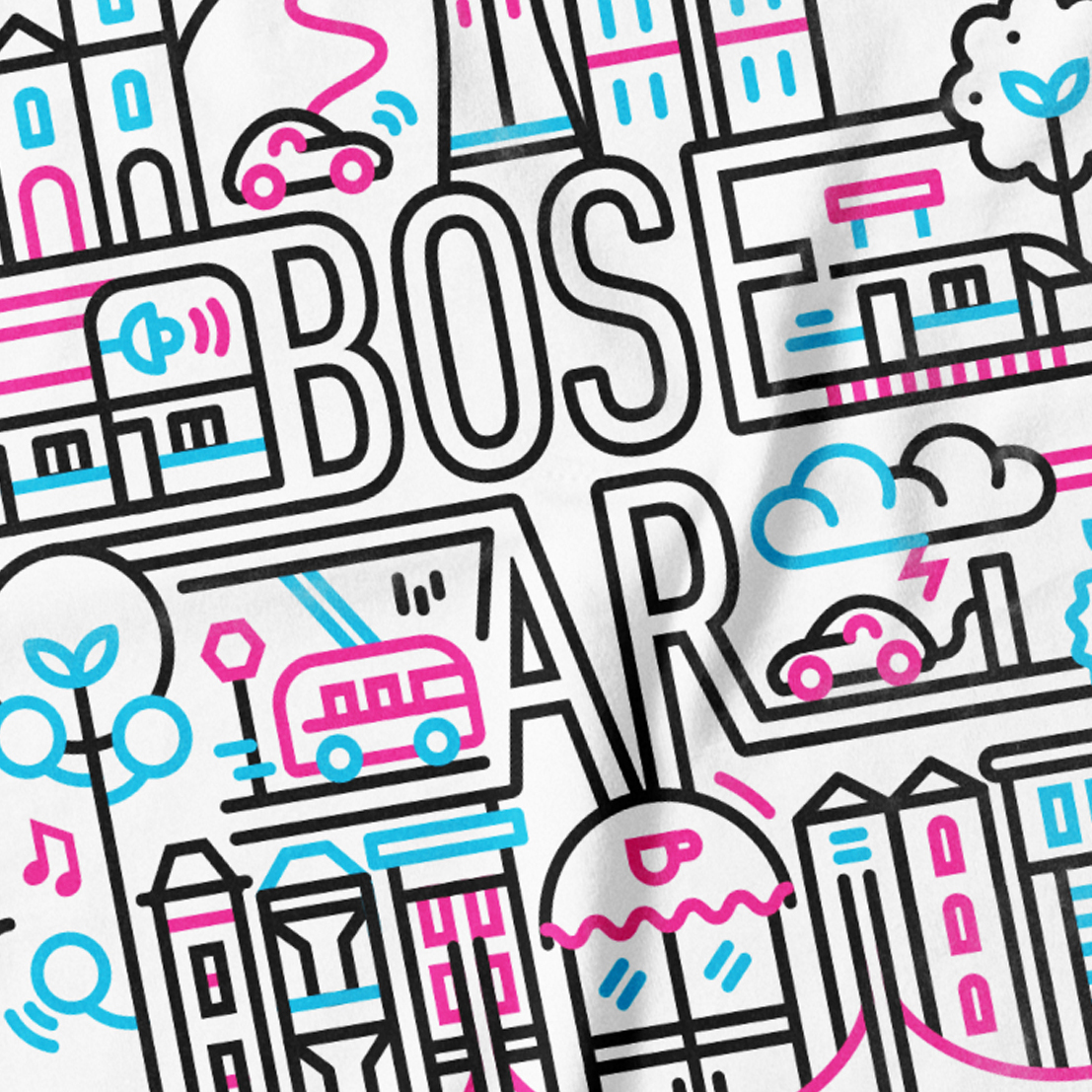 Bose AR Graphics - Illustration, print