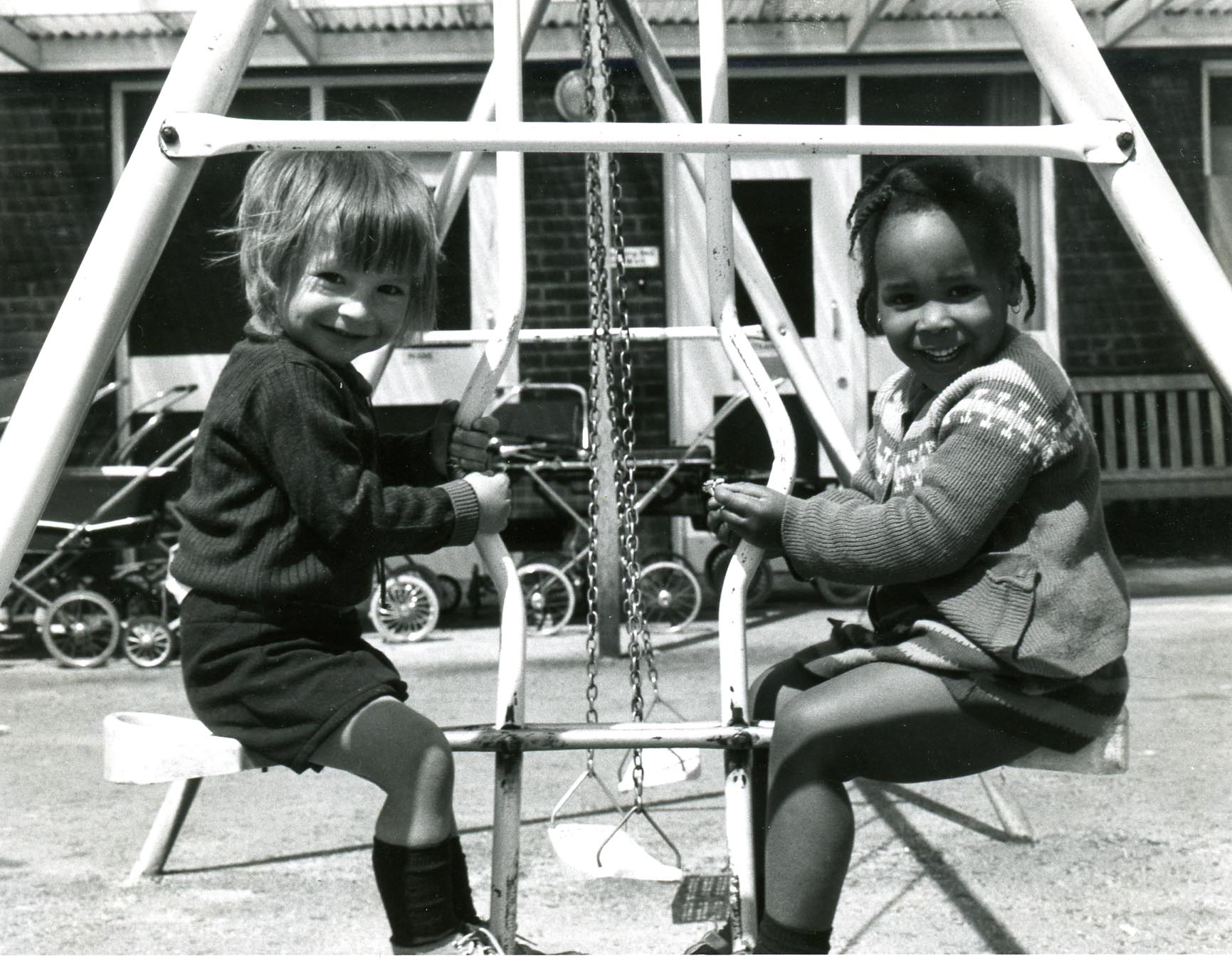 Children at Betts Street Day Nursery, 1974 Copyright © Tower Hamlets Local History Library and Archives