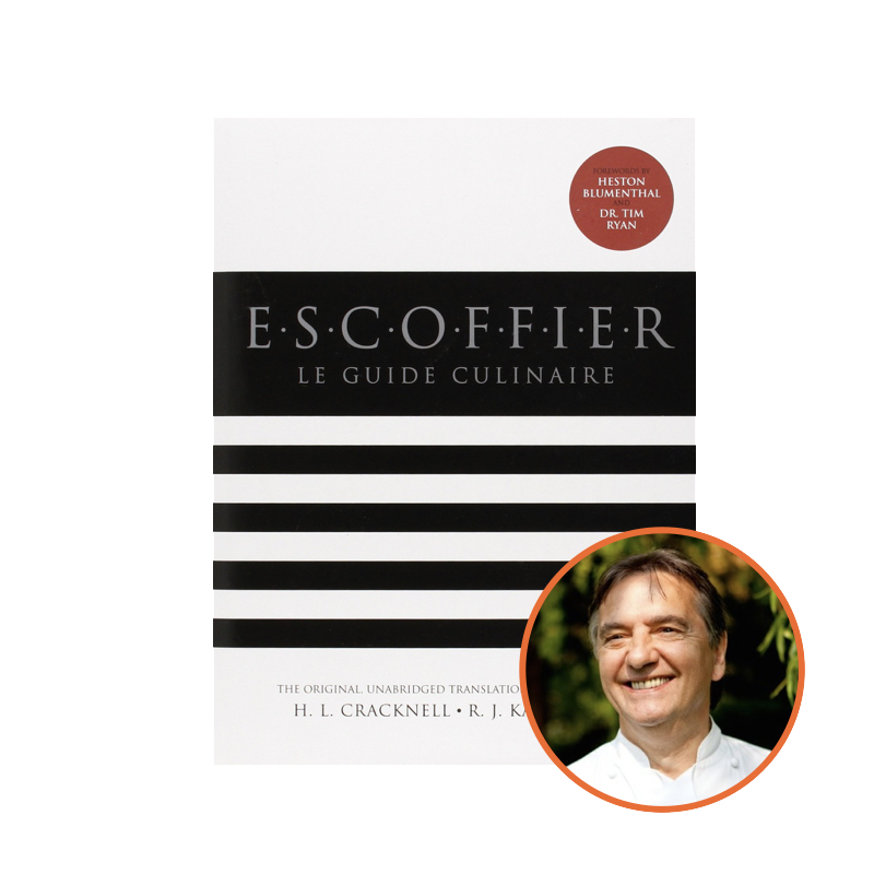Raymond Blanc recommends Auguste Escoffier