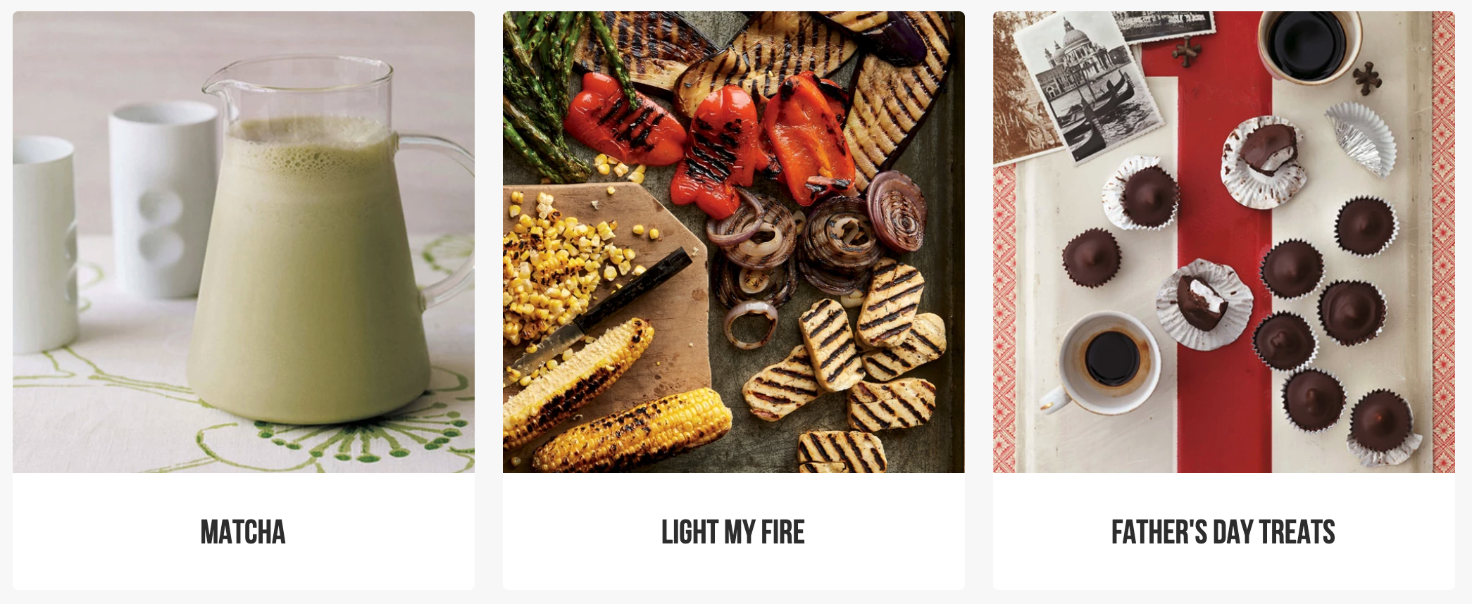 Explore recipe collection curated by our team