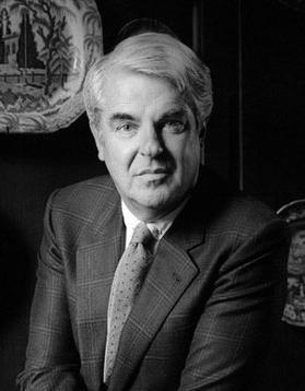 Robert Carrier (National Portrait Gallery / Michael Birt)
