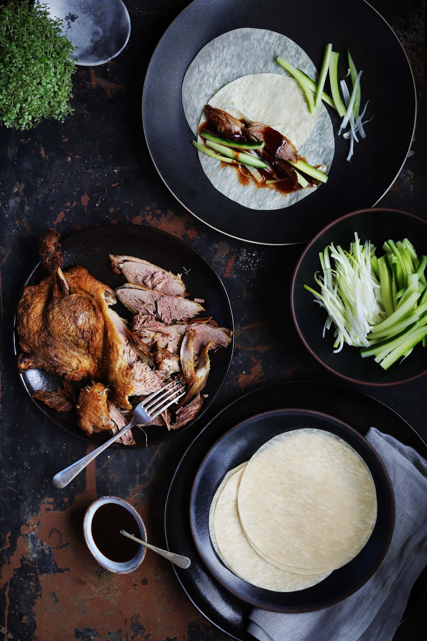Peking Duck from  The Key to Chinese Cooking