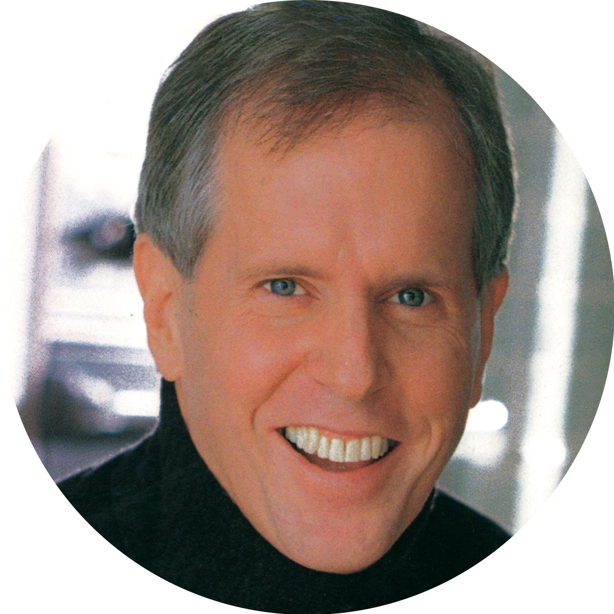 Cookbook author James Peterson