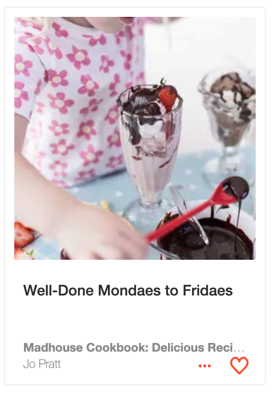 Well-Done Mondaes to Fridaes