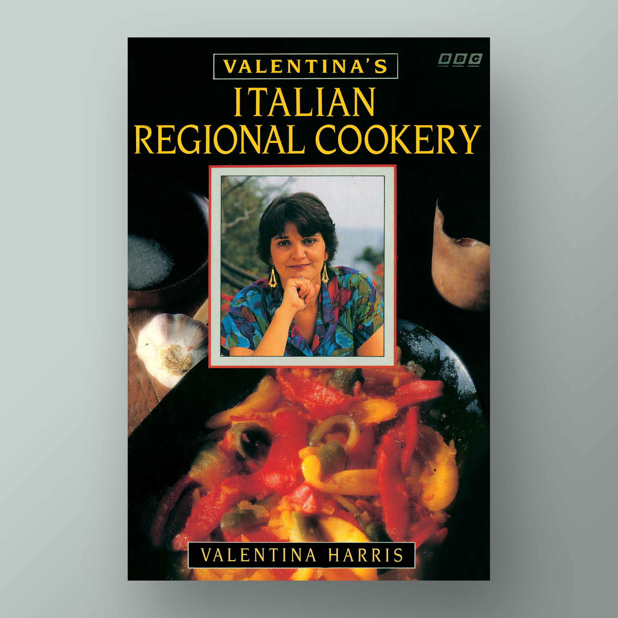 Valentina's Italian Regional Cookery  cookbook cover