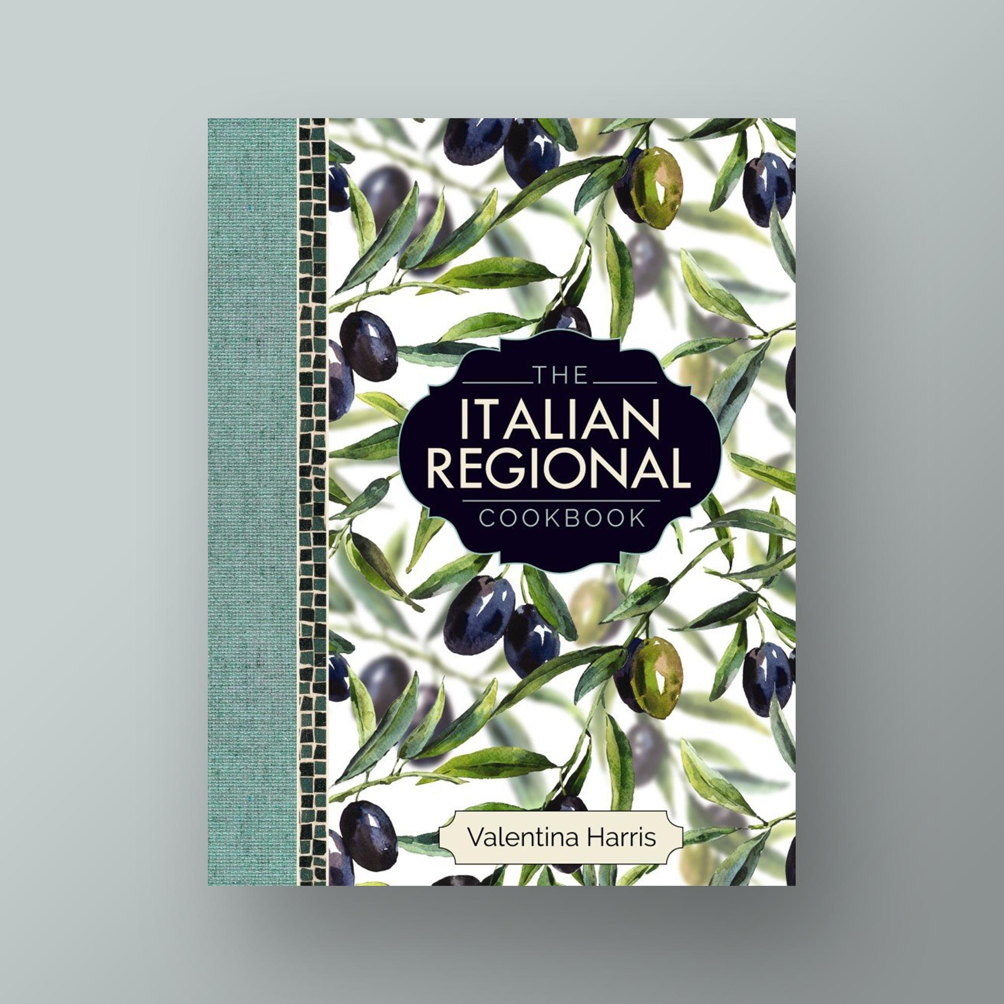The Italian Regional Cookbook  cover