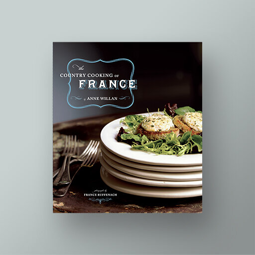 The Country Cooking of France cookbook cover