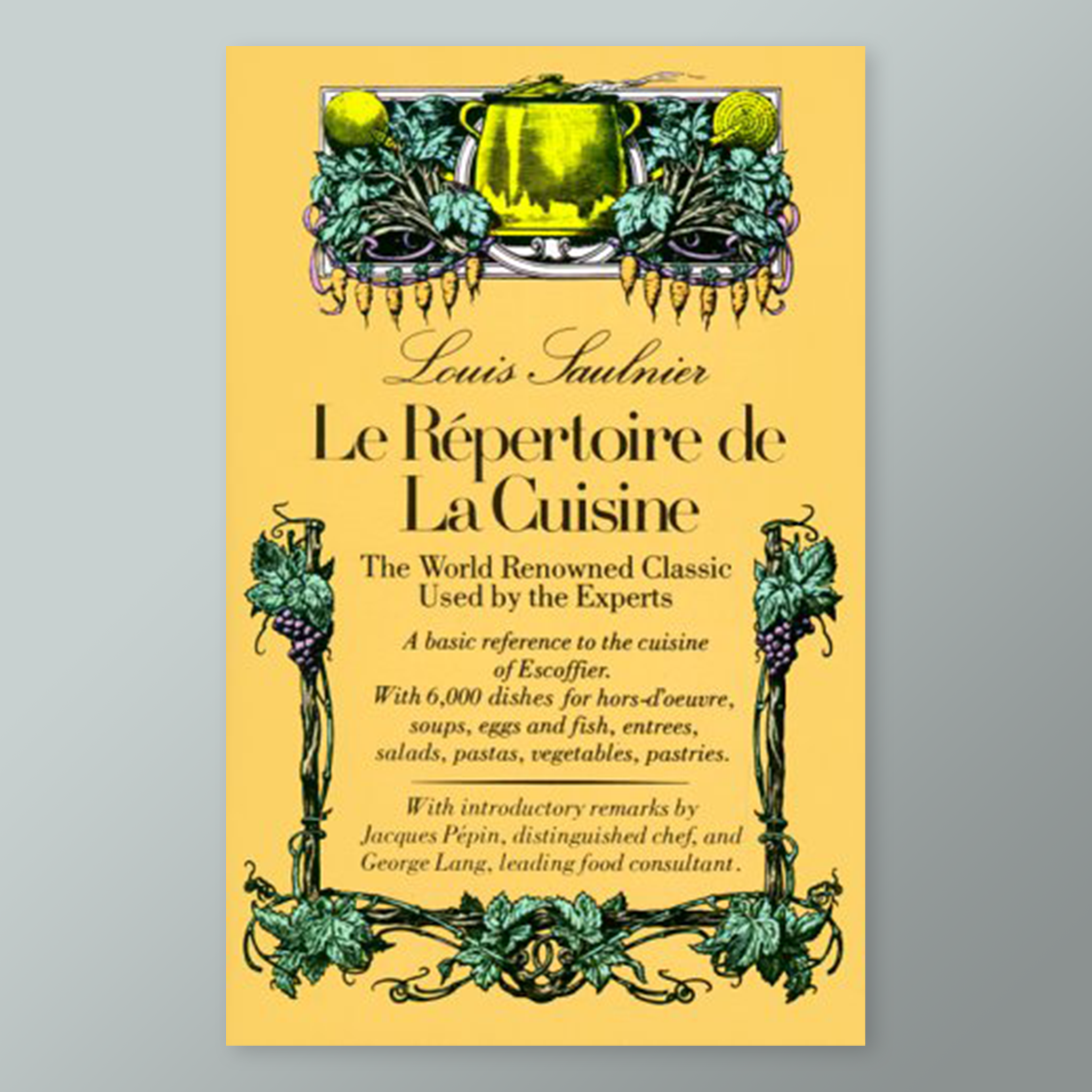 Le Repertoire de La Cuisine cookbook