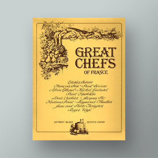 Great Chefs of France cookbook
