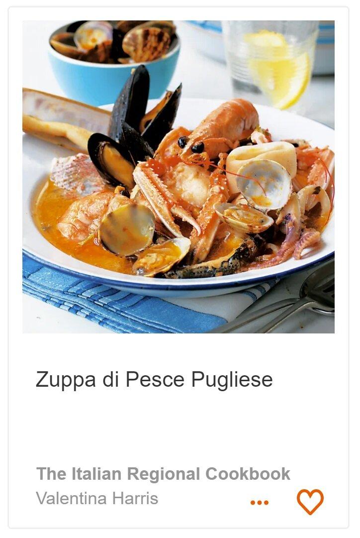 Zuppa di Pesce Pugliese