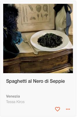 Spaghetti al Nero Seppie