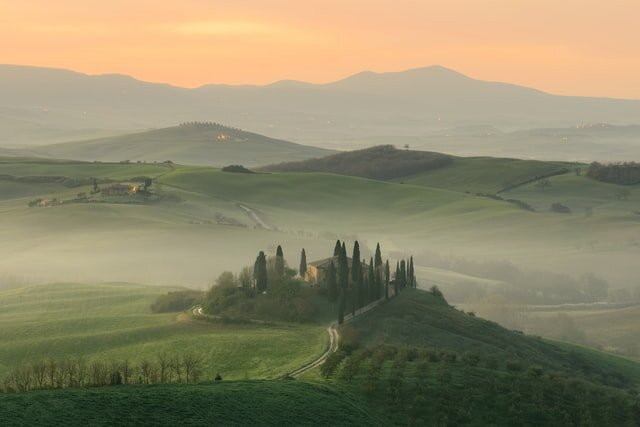 Tuscany's rolling hills are home to some of Italy's finest food.
