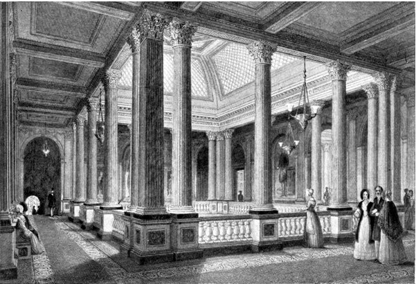 The Reform Club in London, where Alexis Soyer was  chef de cuisine.