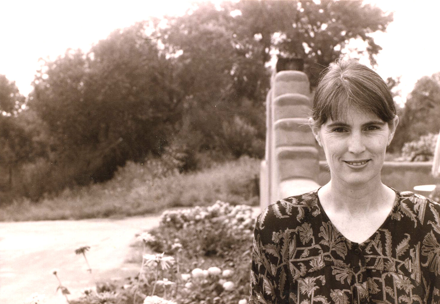 Deborah in 1990, the year  The Savory Way  was published.
