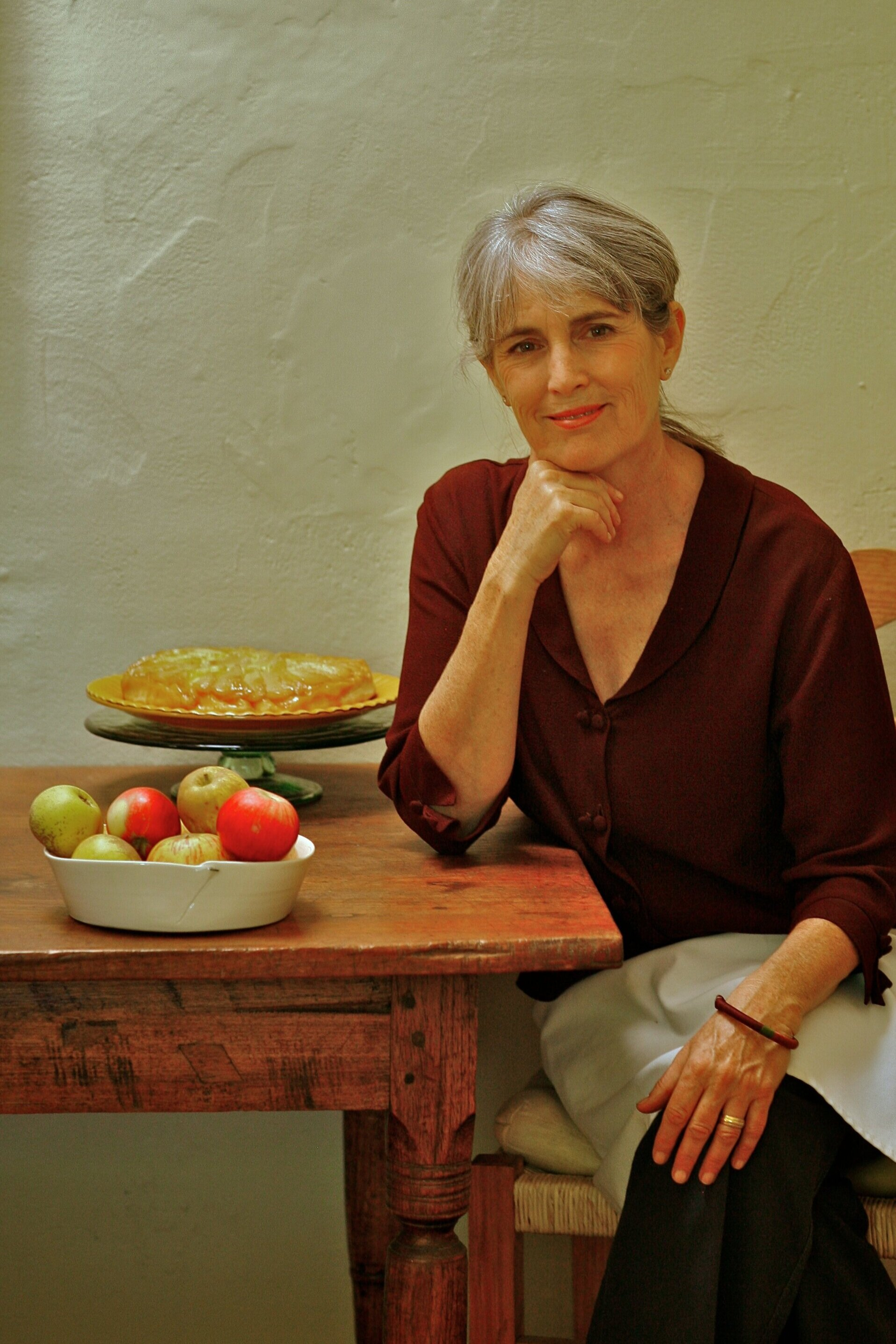 Deborah Madison has helped shaped attitudes to meat-free eating. Photograph: Laurie Smith
