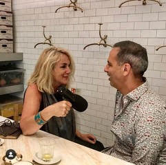 Gilly talking food with Yotam Ottolenghi