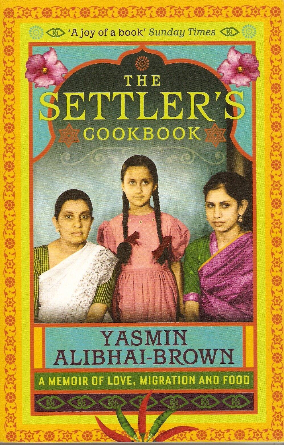 The Settler's Cookbook jacket