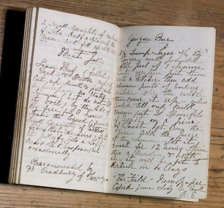 Avis Crocombe's manuscript