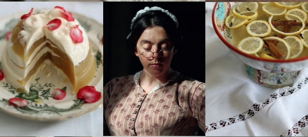 Victorian recipe dishes and Mrs Crocombe