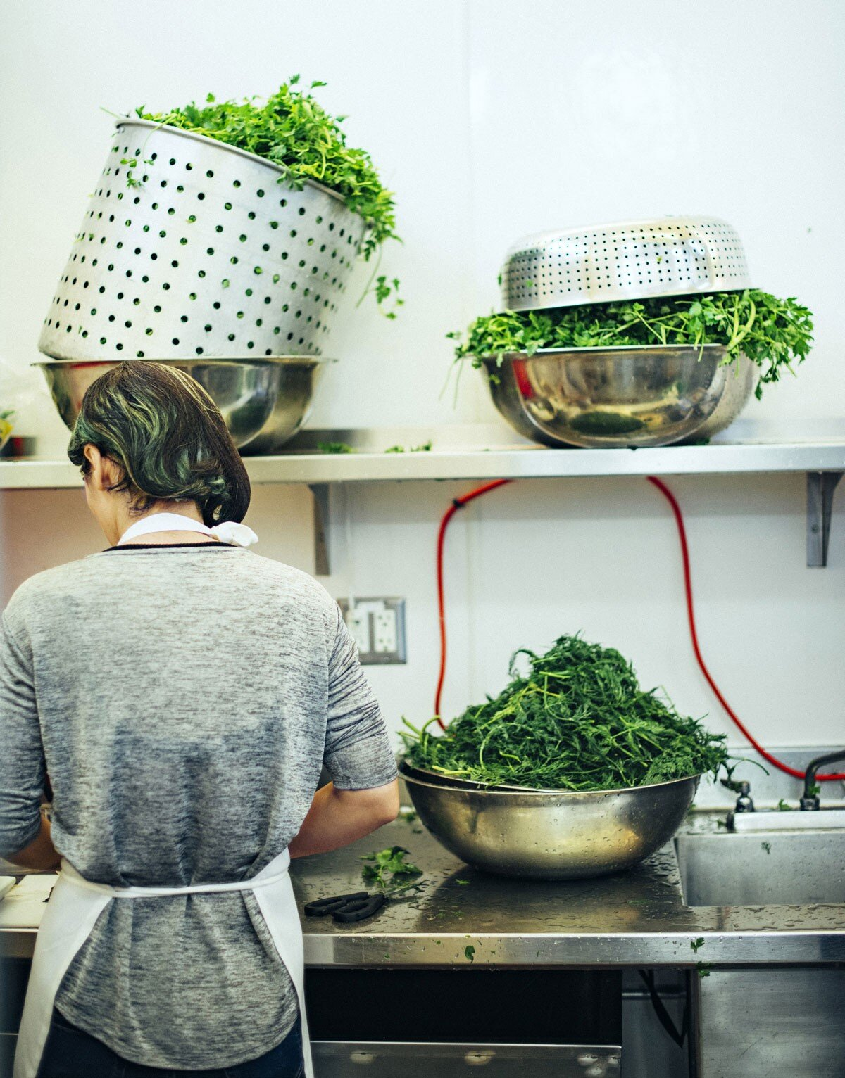"""""""The kitchen is a safe place to tell our personal stories."""""""