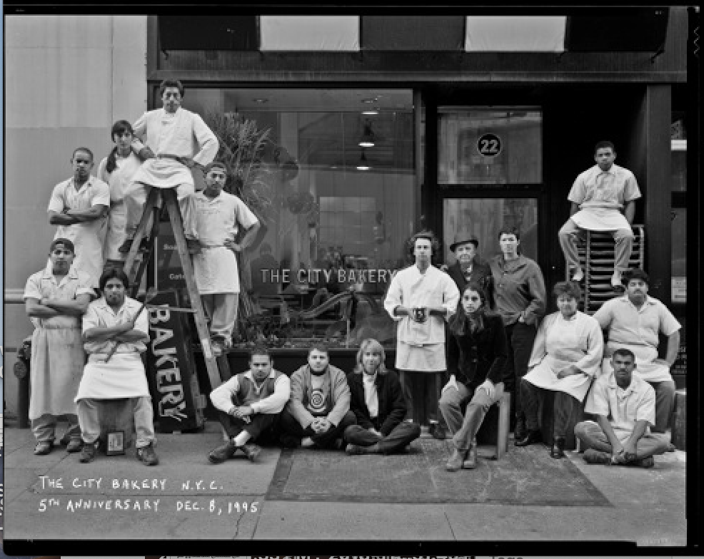 City Bakery in 1995, in its original Union Square store on East 17th St.  (Photograph: Chris Callis)