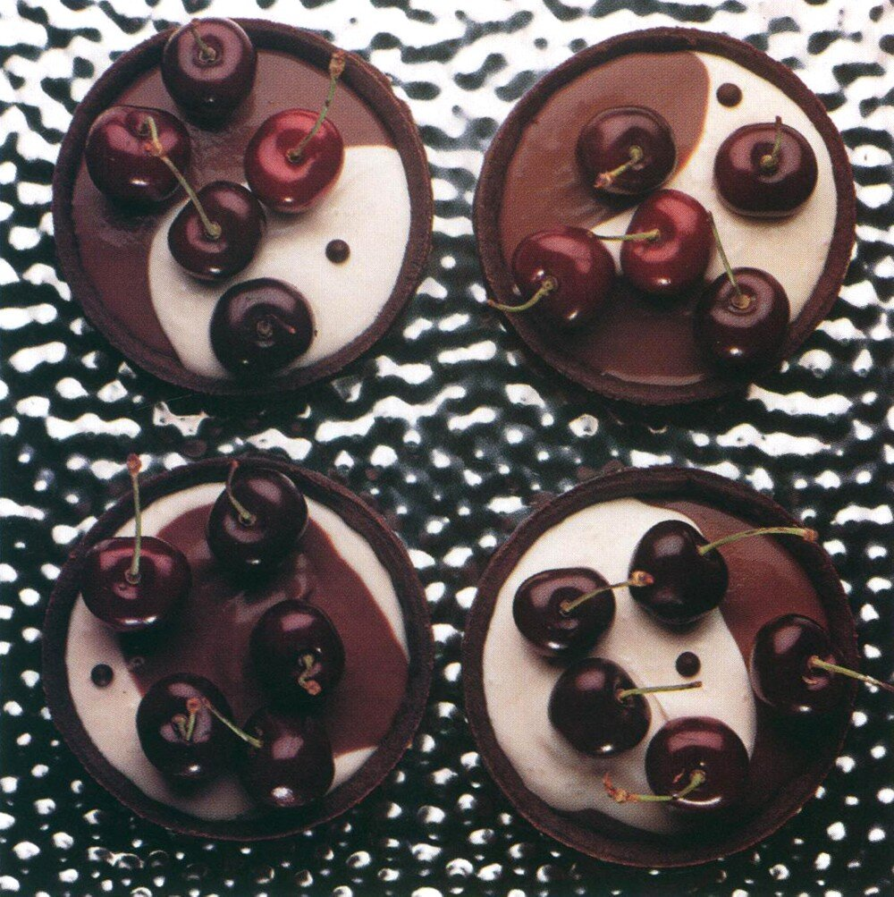 Cherries on Two-Tone Chocolate: would they have been an Insta-hit?