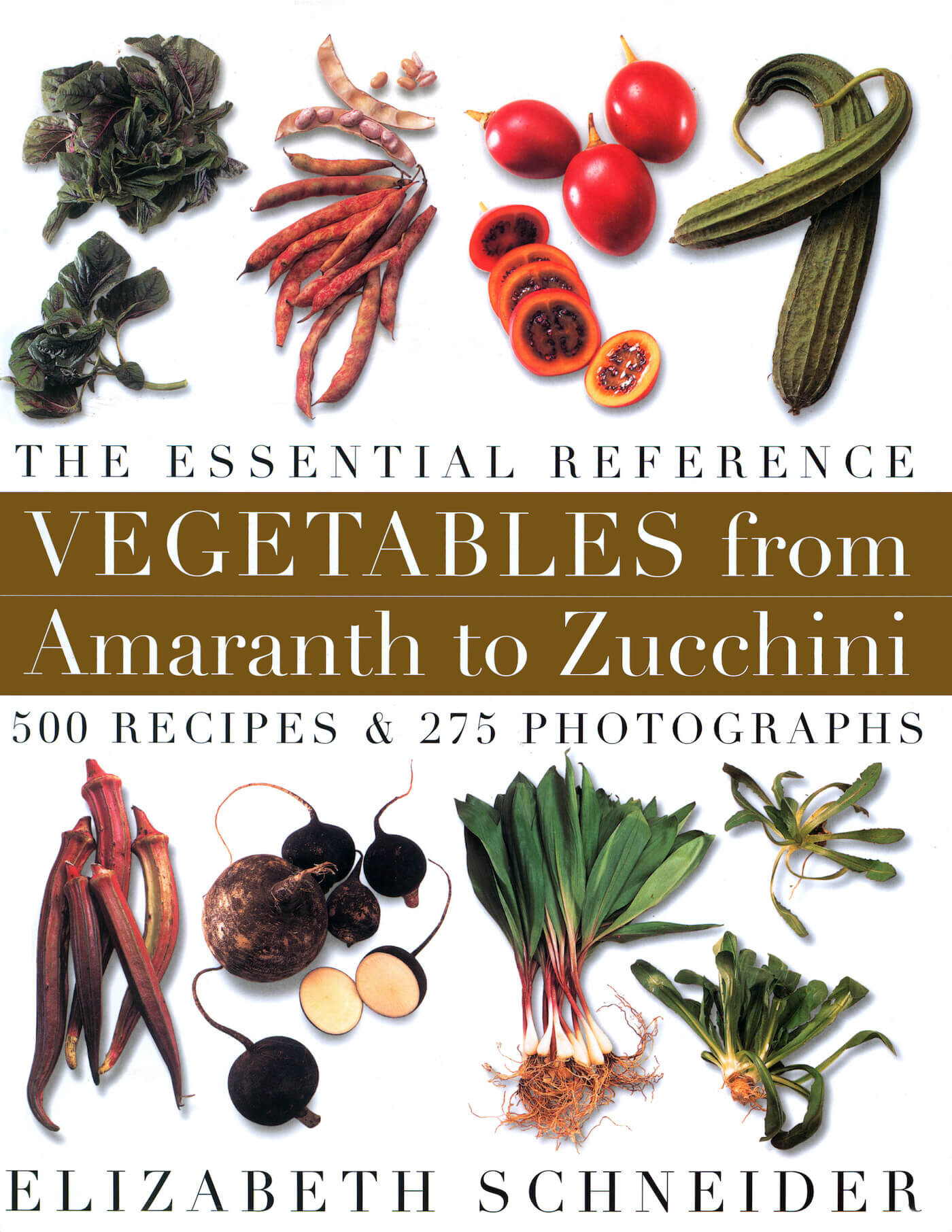 Vegetables From Amaranth to Zucchini book jacket