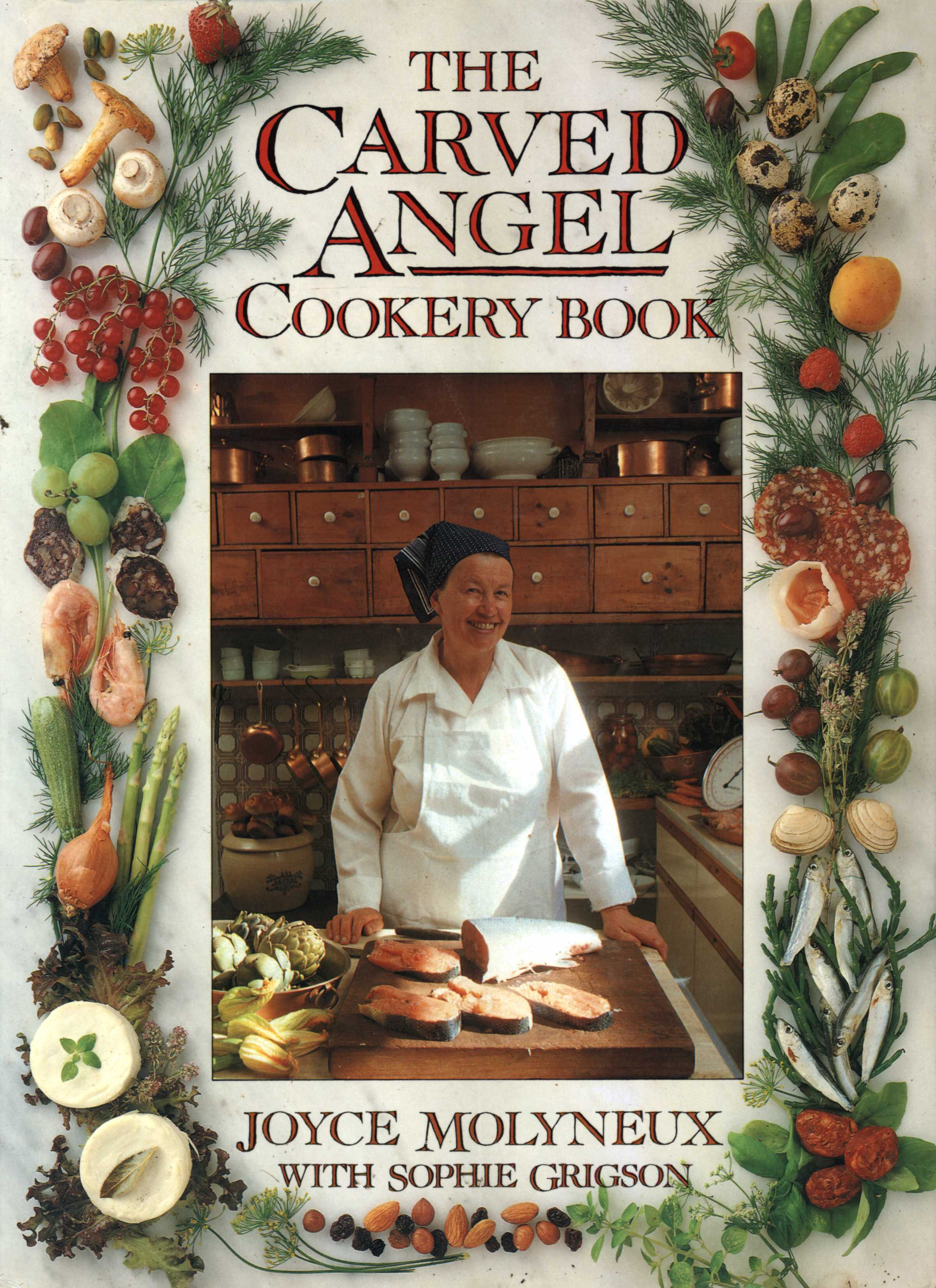 The Carved Angel Cookery Book jacket