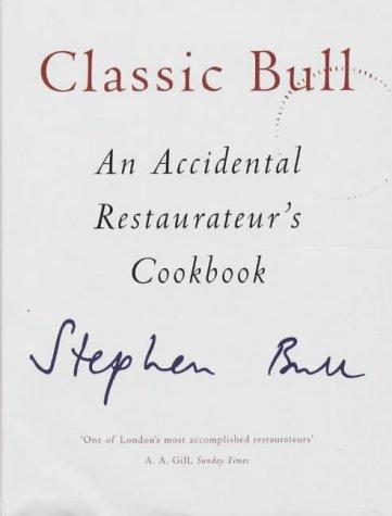 Stephen Bull's Classic Bull book jacket