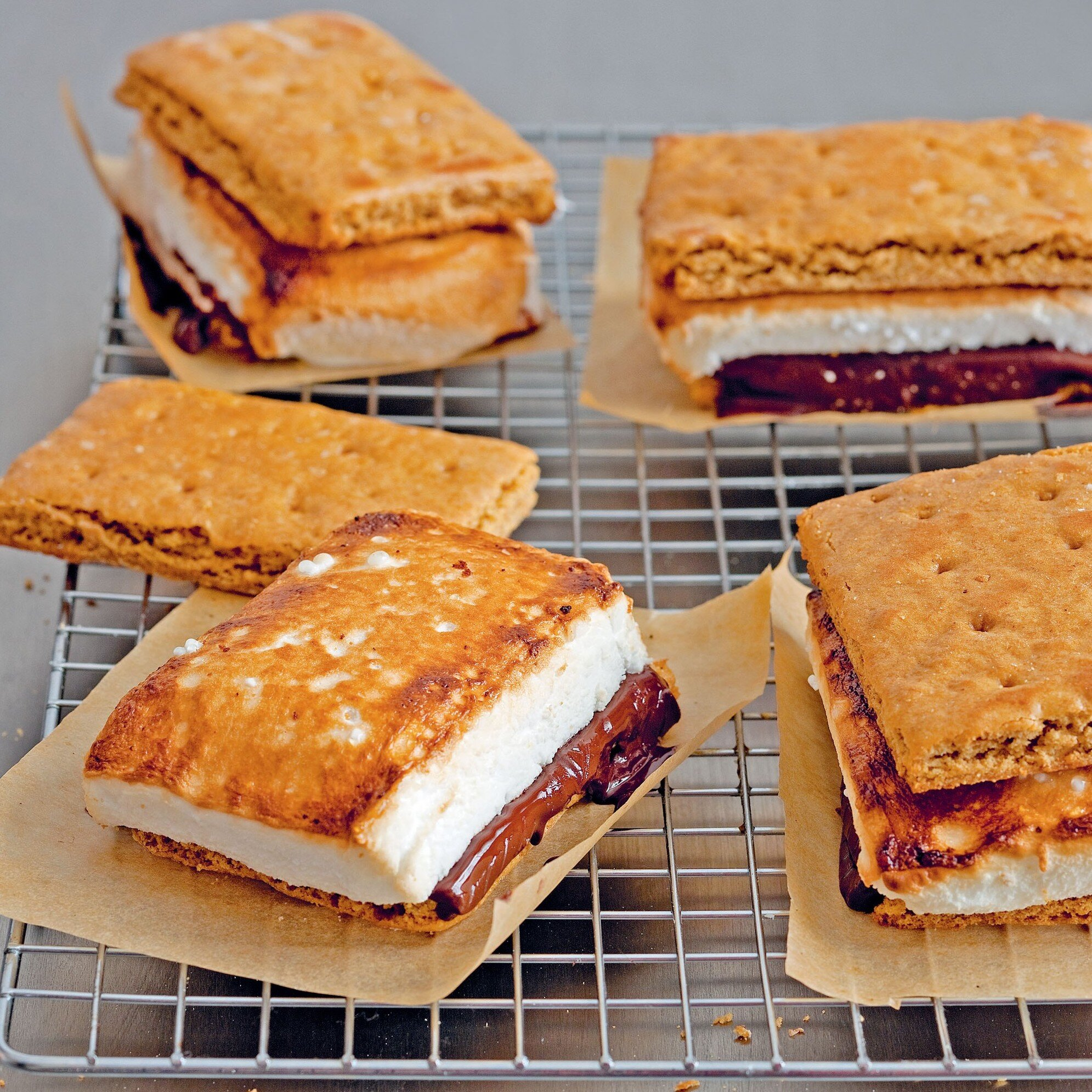 S'mores: an example of a mash-up recipe that really works.