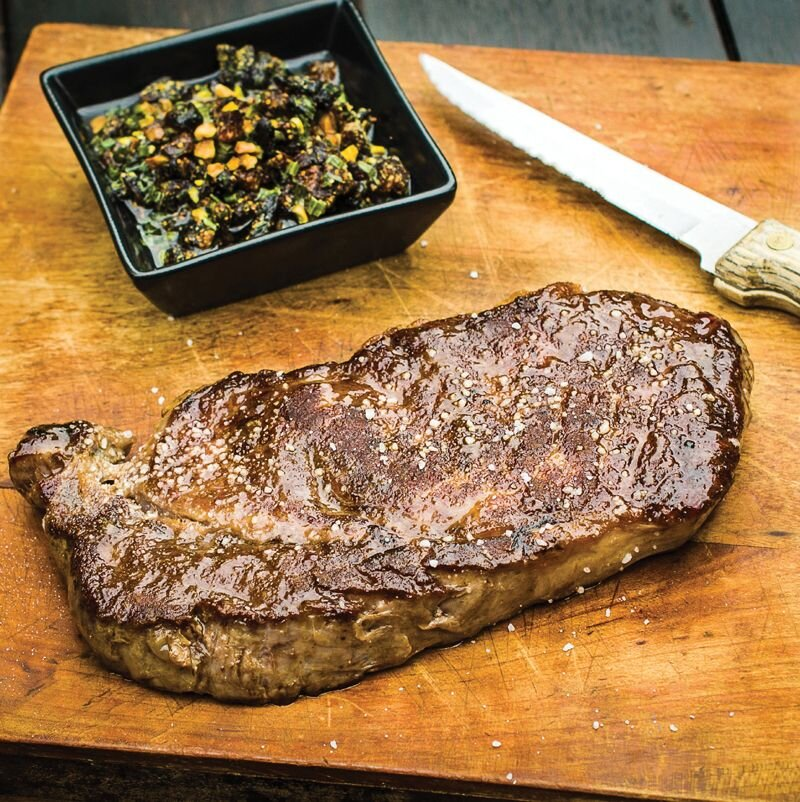 Harold McGee may have dispelled the myth about searing acting to 'seal in' meat juices, but there is no question that it delivers delicious flavours thanks to the wonders of the Maillard reactions.