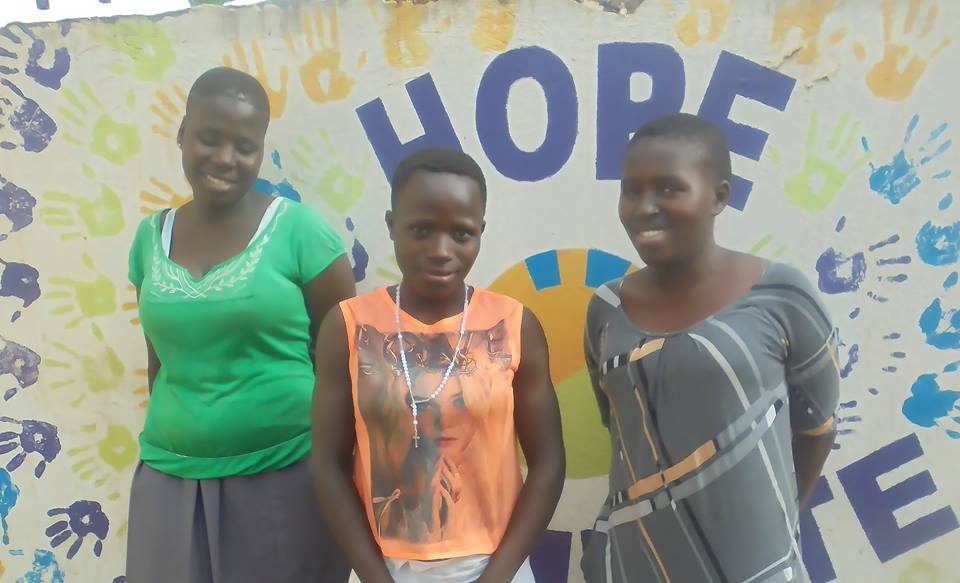 Left to Right: Juliette, Monica and Shamira