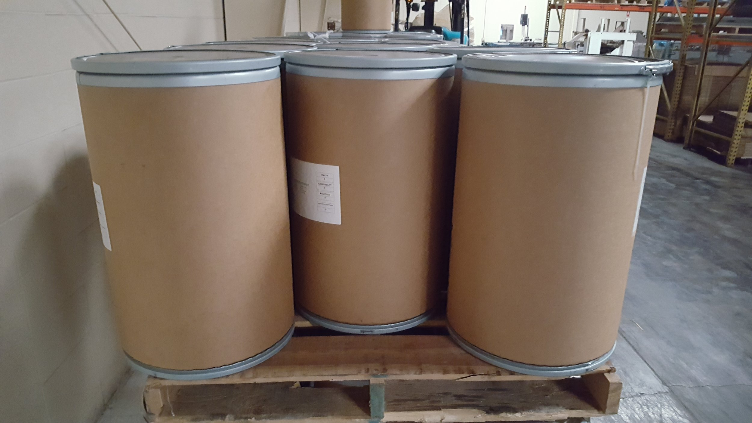 Fiber drums - Customized to your weight requirements
