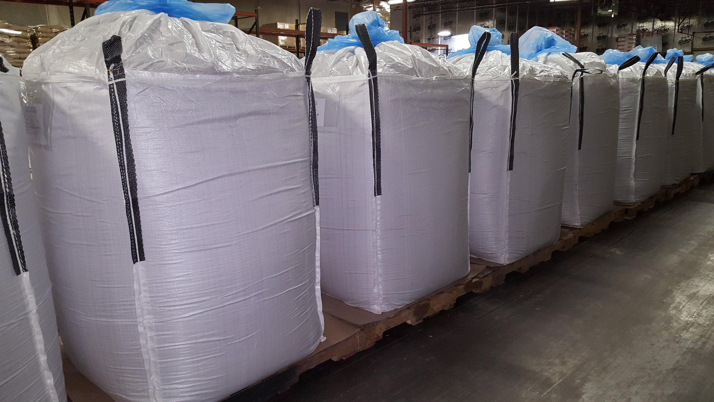 Bulk Sacks - Custom pack sizes from 500-2200 pounds