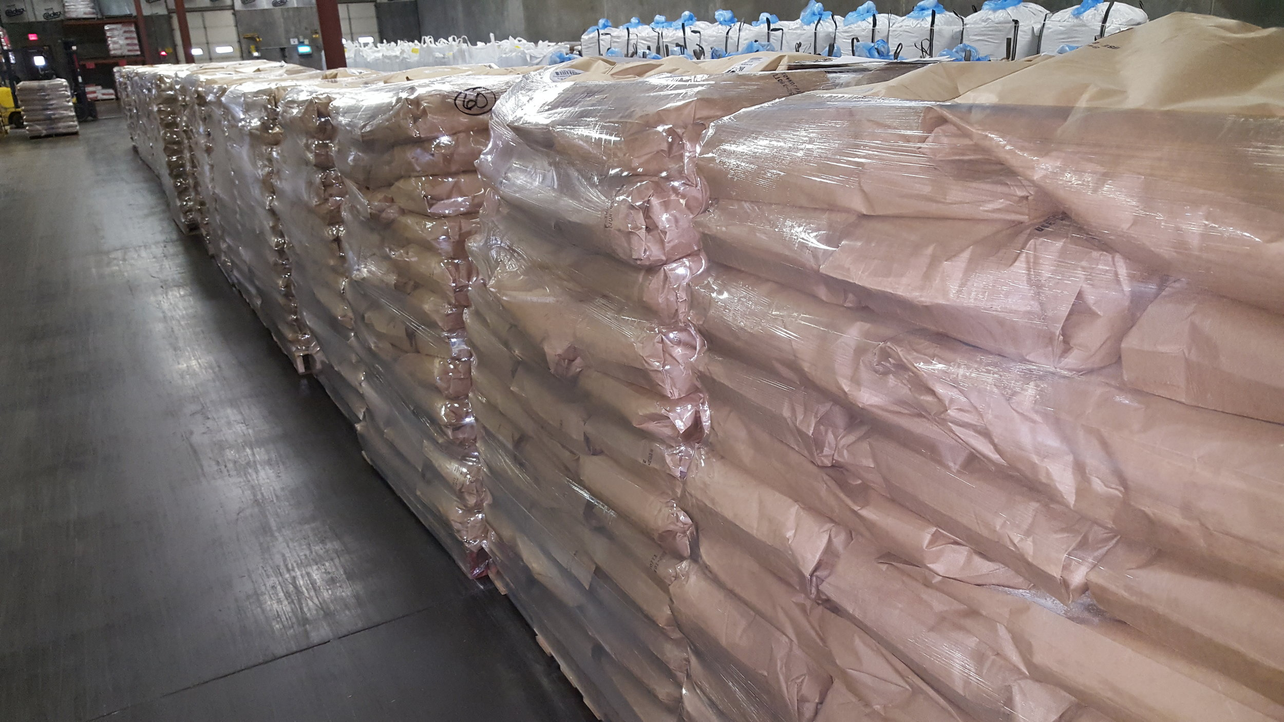 Brown Kraft Bags - 20-50 poundsMultilayer heat sealed bags