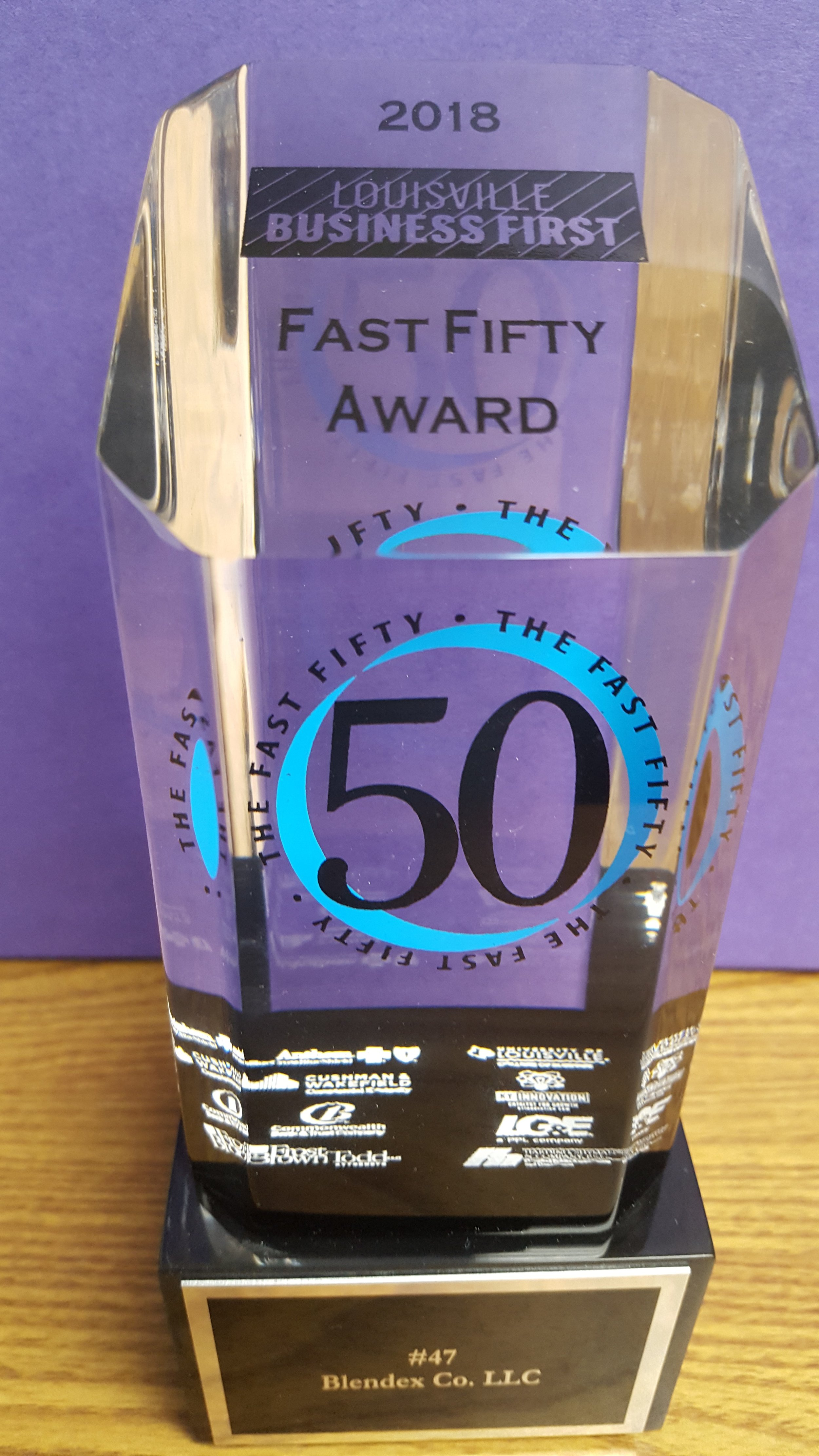 Blendex wins award! -