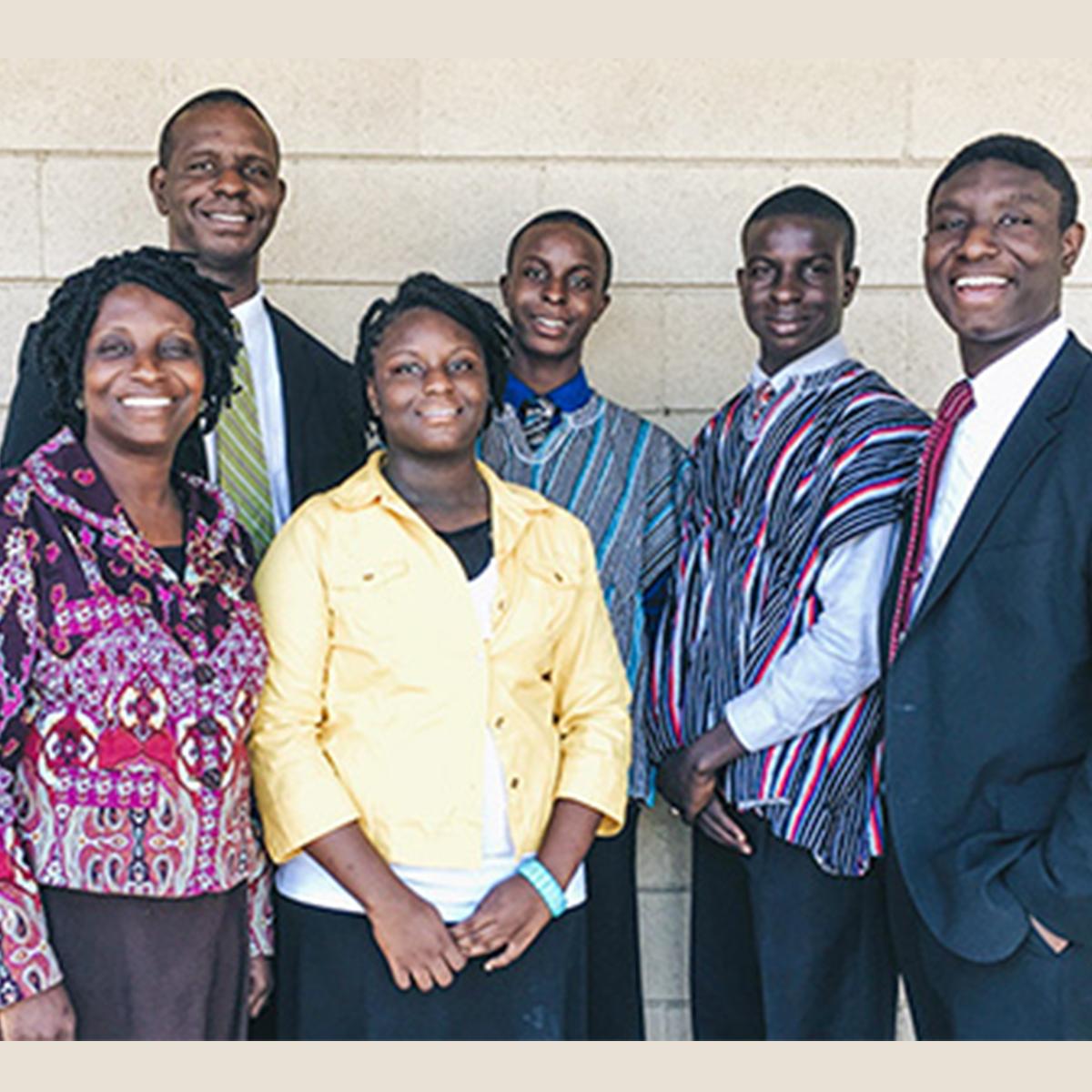GHANA  | Fredrick & Antoinette Kearney