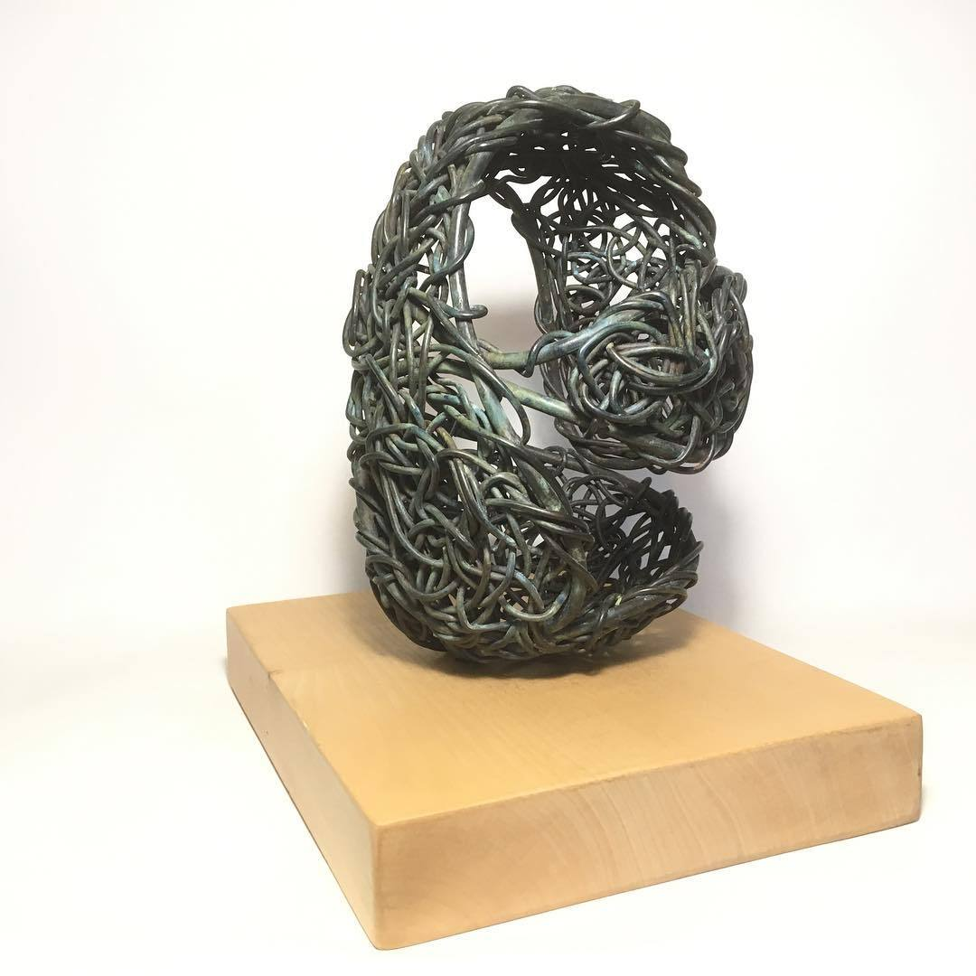 Textured Bronzes and Crocheted Bronze sculptures ready for next weeks Art Fair East exhibition, I'll be taking along these two collections plus a few more too #sculpture #artfaireastnorwich #artfaireast #Art #bronzesculptures   https://www.instagram.com/p/Bqie-K0g-av/?utm_source=ig_tumblr_share&igshid=1uf8e7x6dg6im