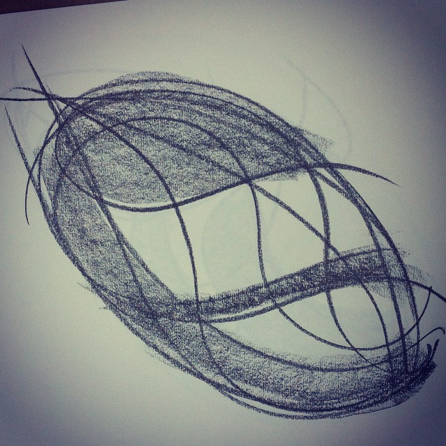 Development Drawing No.2 Abstract pod
