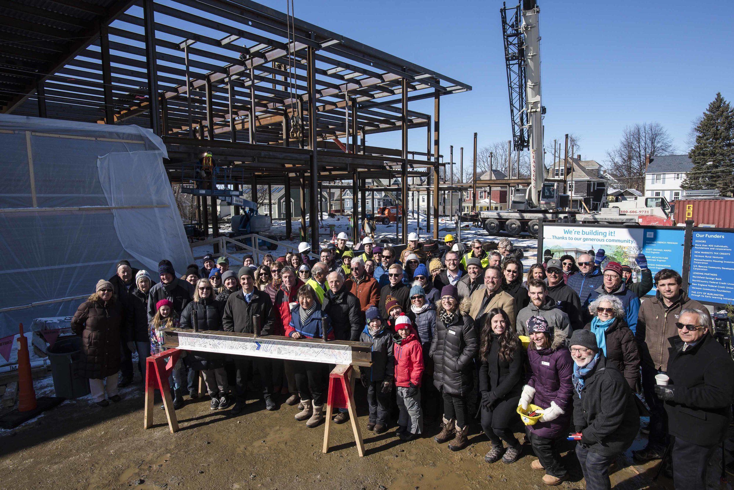 Topping off ceremony Feb. 28