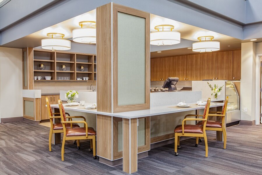 Senior Living 625 - Remodel Design - Interior ArchitectureFF & E - Artwork - DraperyOwner's Rep - Member 18 Months
