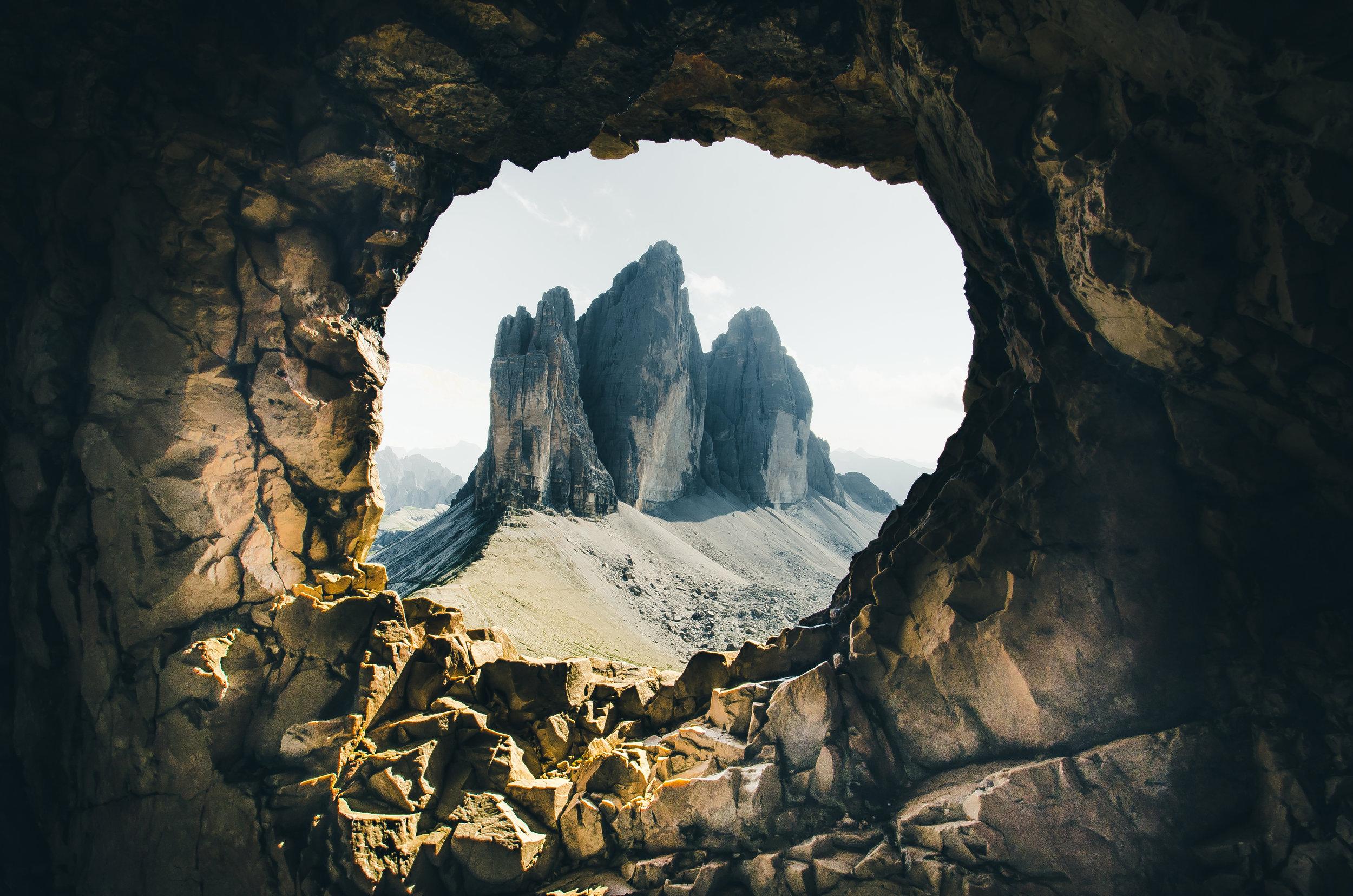 Window To The Dolomites