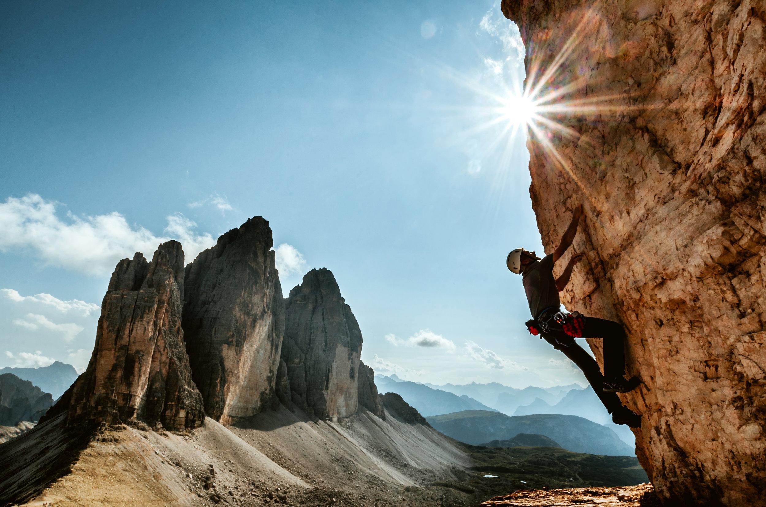 Conquering The Dolomites