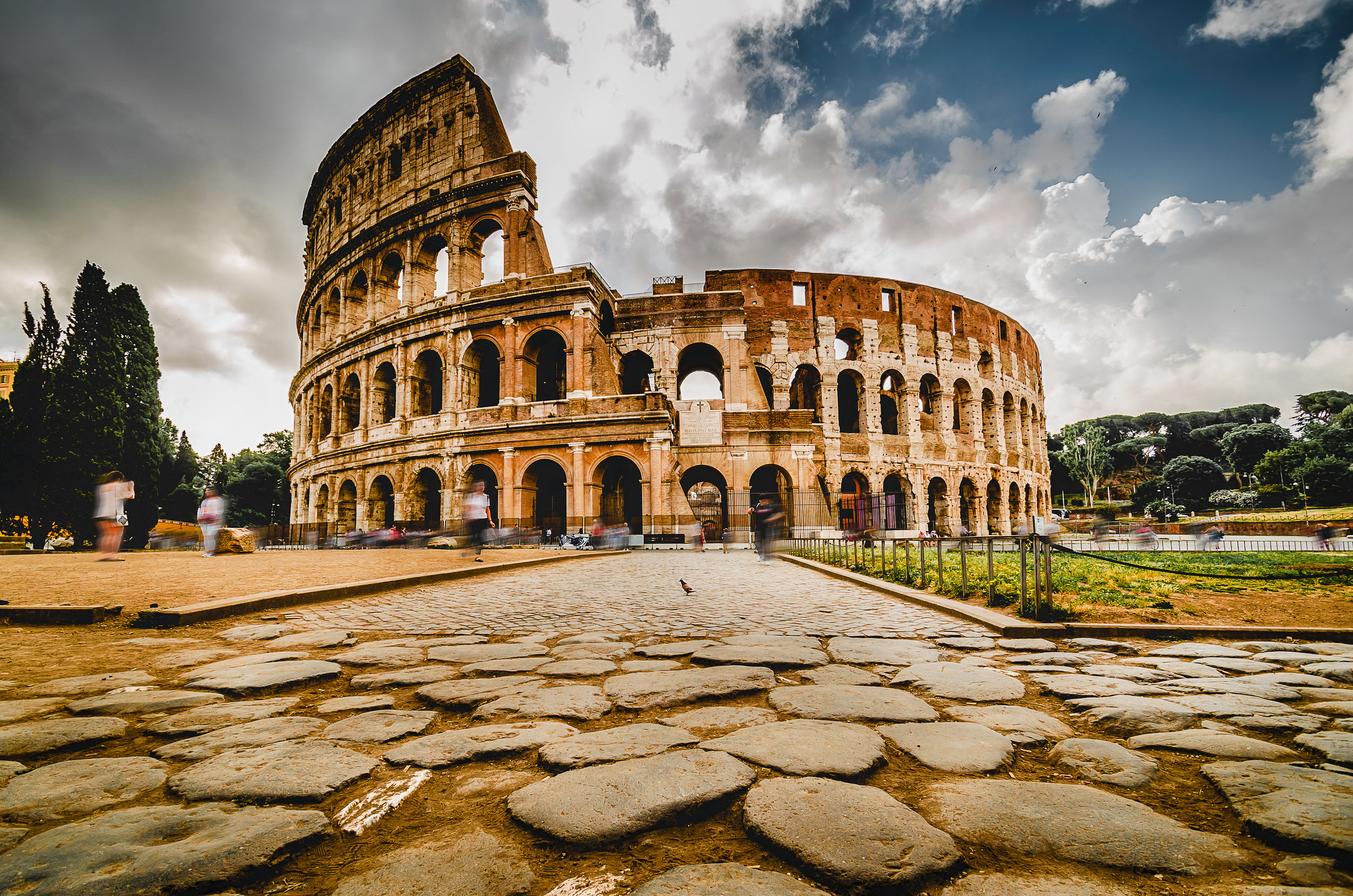 The Roman Colosseum